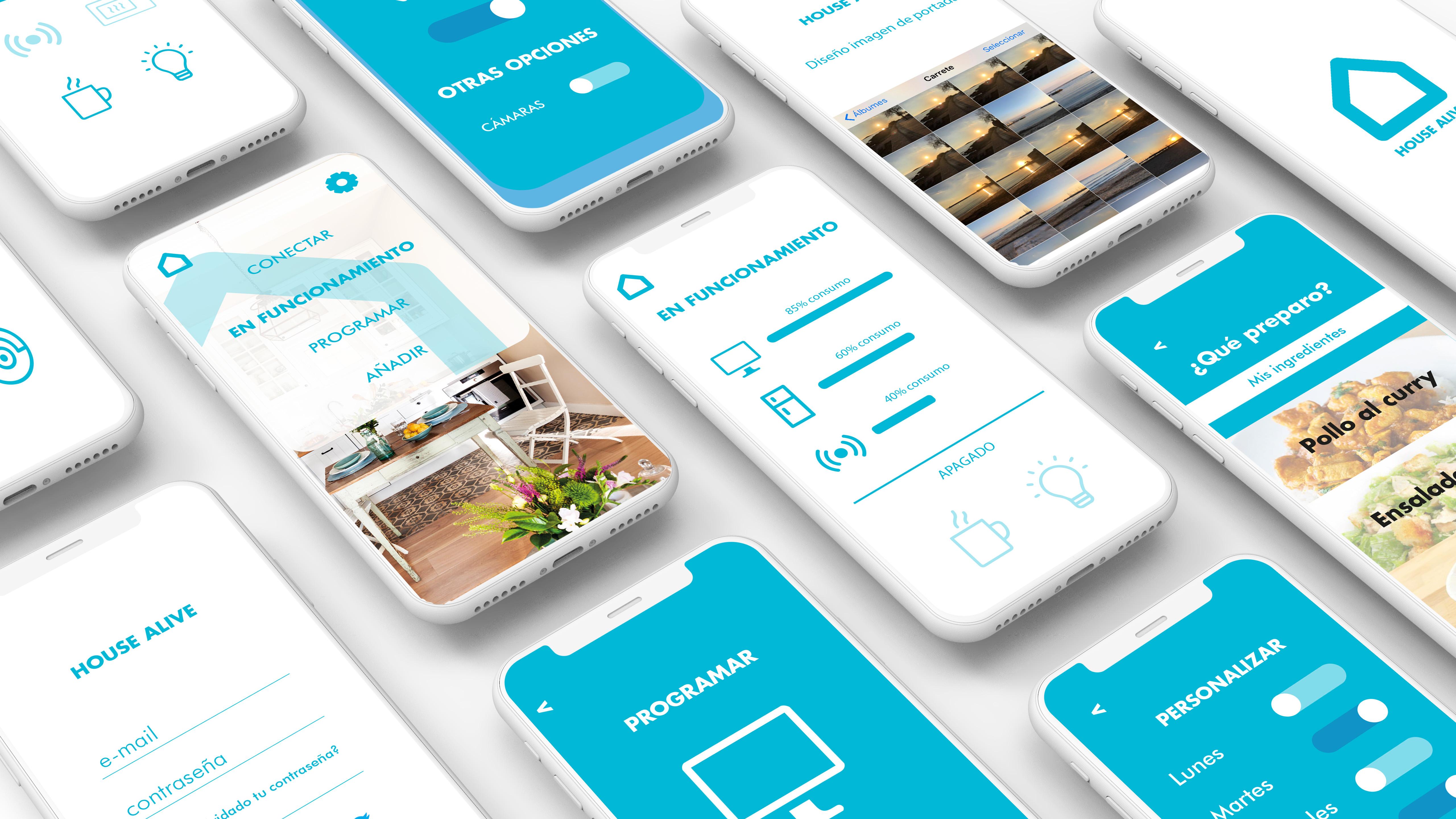 App del hogar: House Alive by Nerea Vidal Muñoz - Creative Work