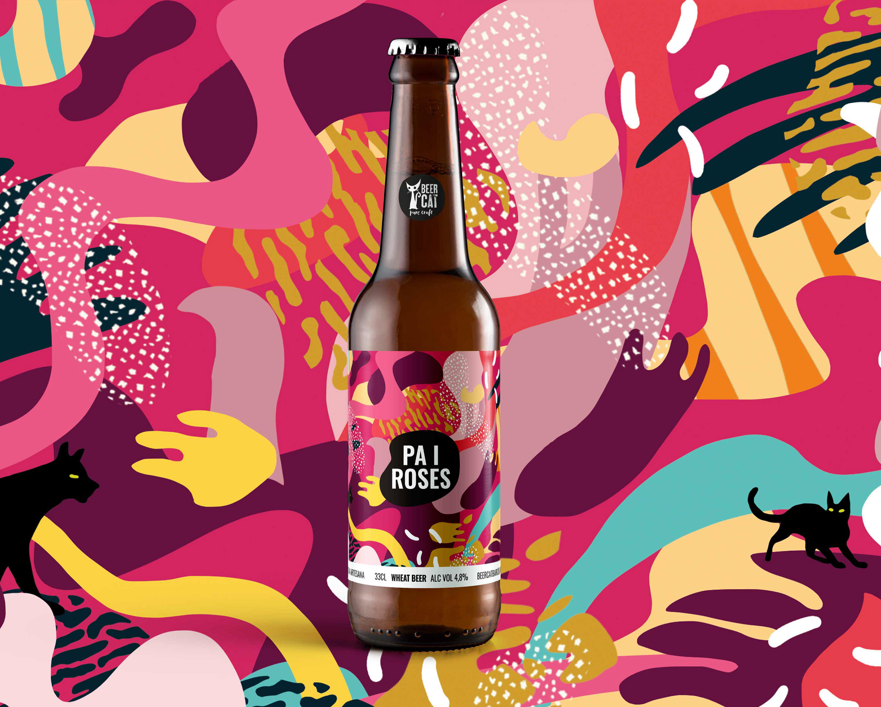 BeerCat Labels by Disculpi Studio - Creative Work
