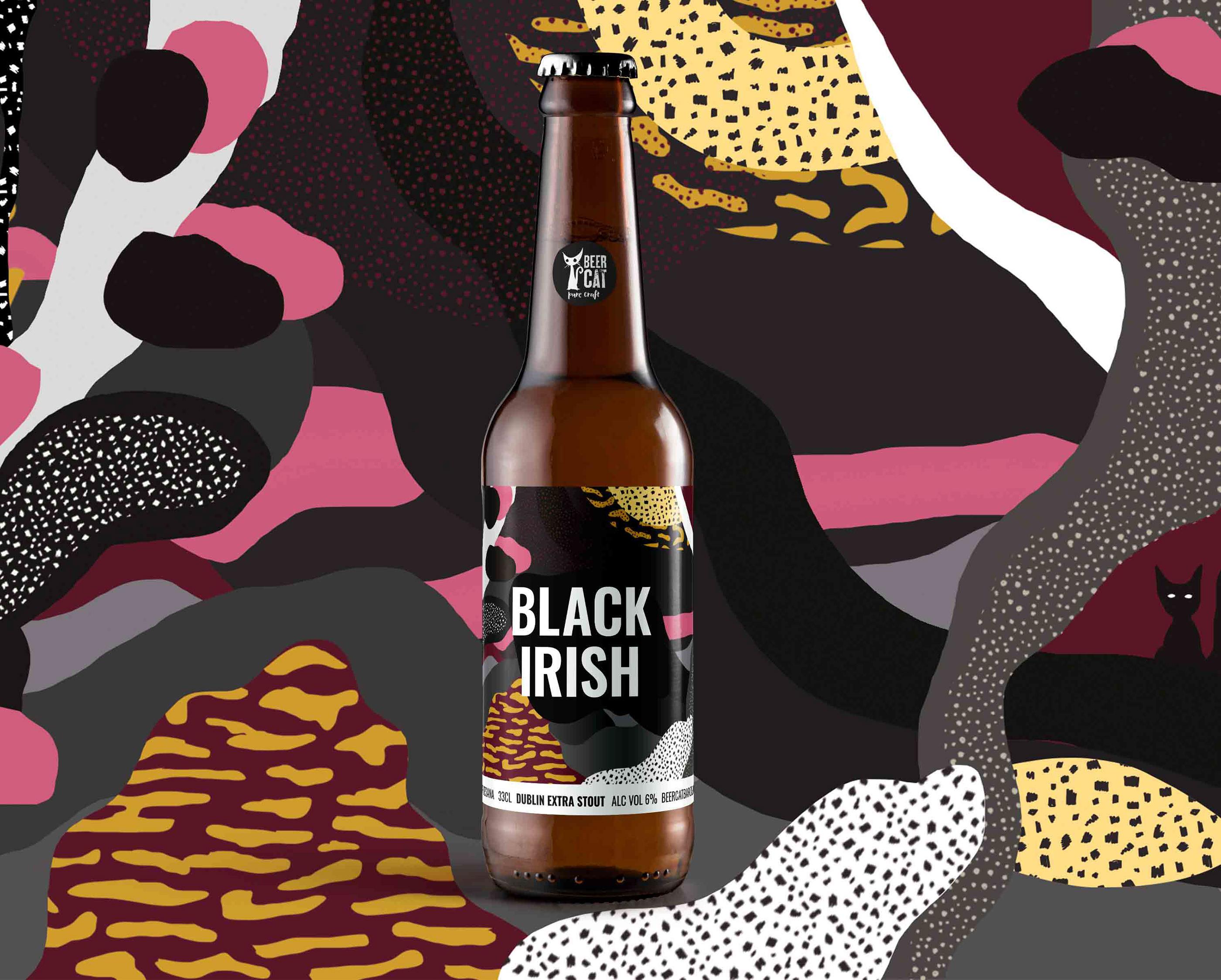 BeerCat Labels by Disculpi Studio - Creative Work - $i