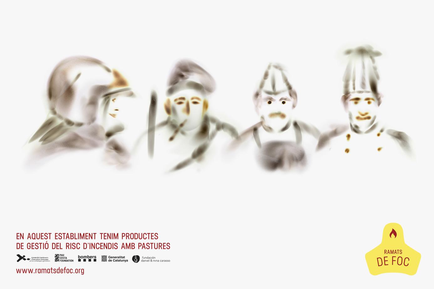Ramats de Foc by La Fonda Gràfica - Creative Work - $i
