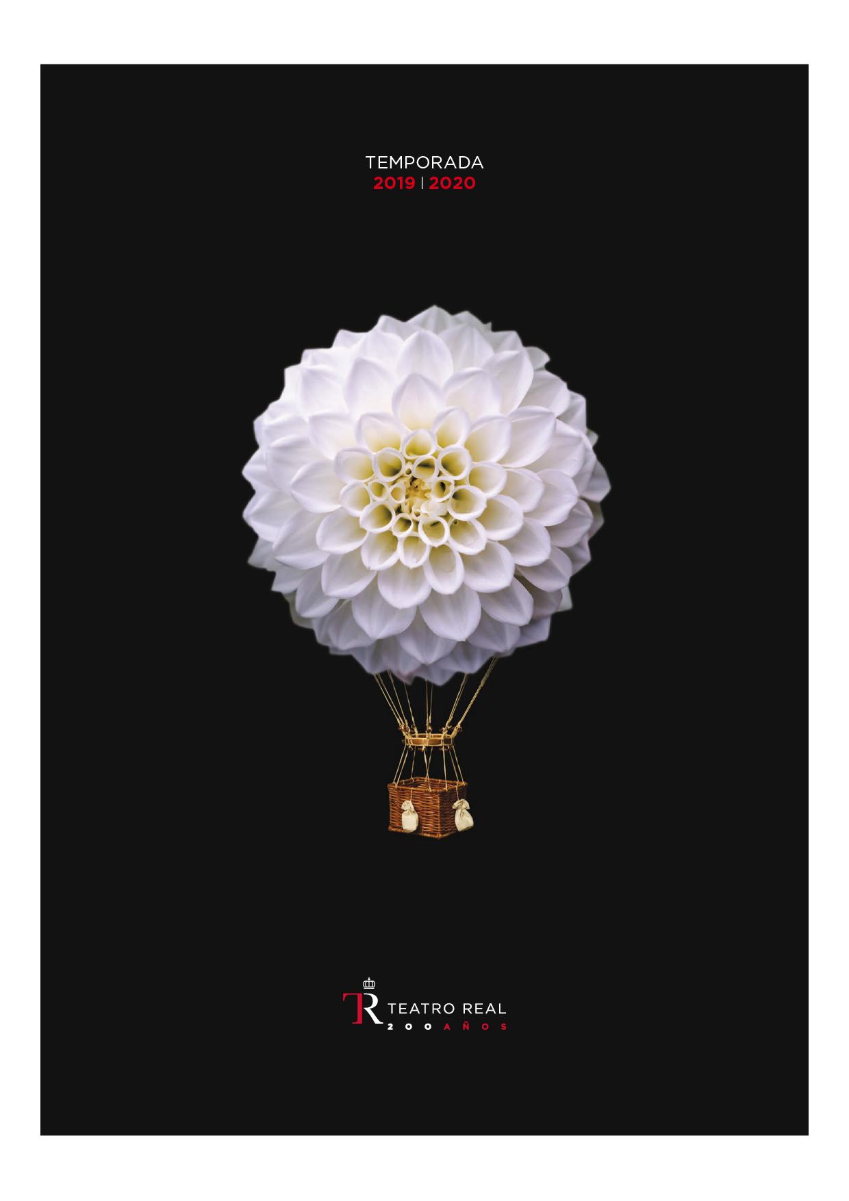 Teatro Real. Temporada de ópera 2019/2020 by Estudio Pep Carrió - Creative Work