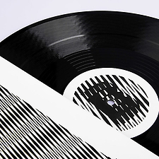 Vinyl record sleeves for Cocoon …