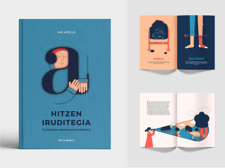 'Hitzen Iruditegia': ilustrando la belleza del euskera by Ane Arzelus - Creative Work - $i