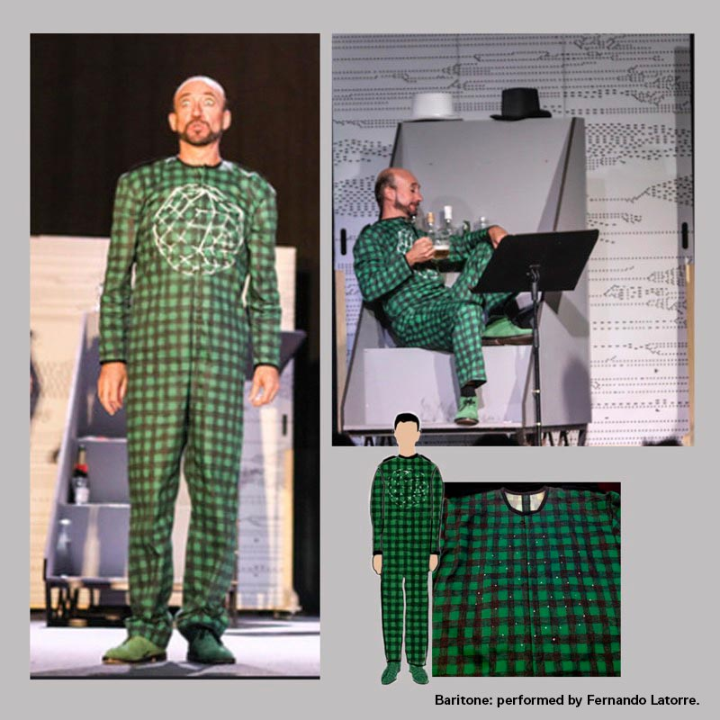 LAU NOTEN OPERA, costume design, poster and graphics. by Malús Arbide - Creative Work