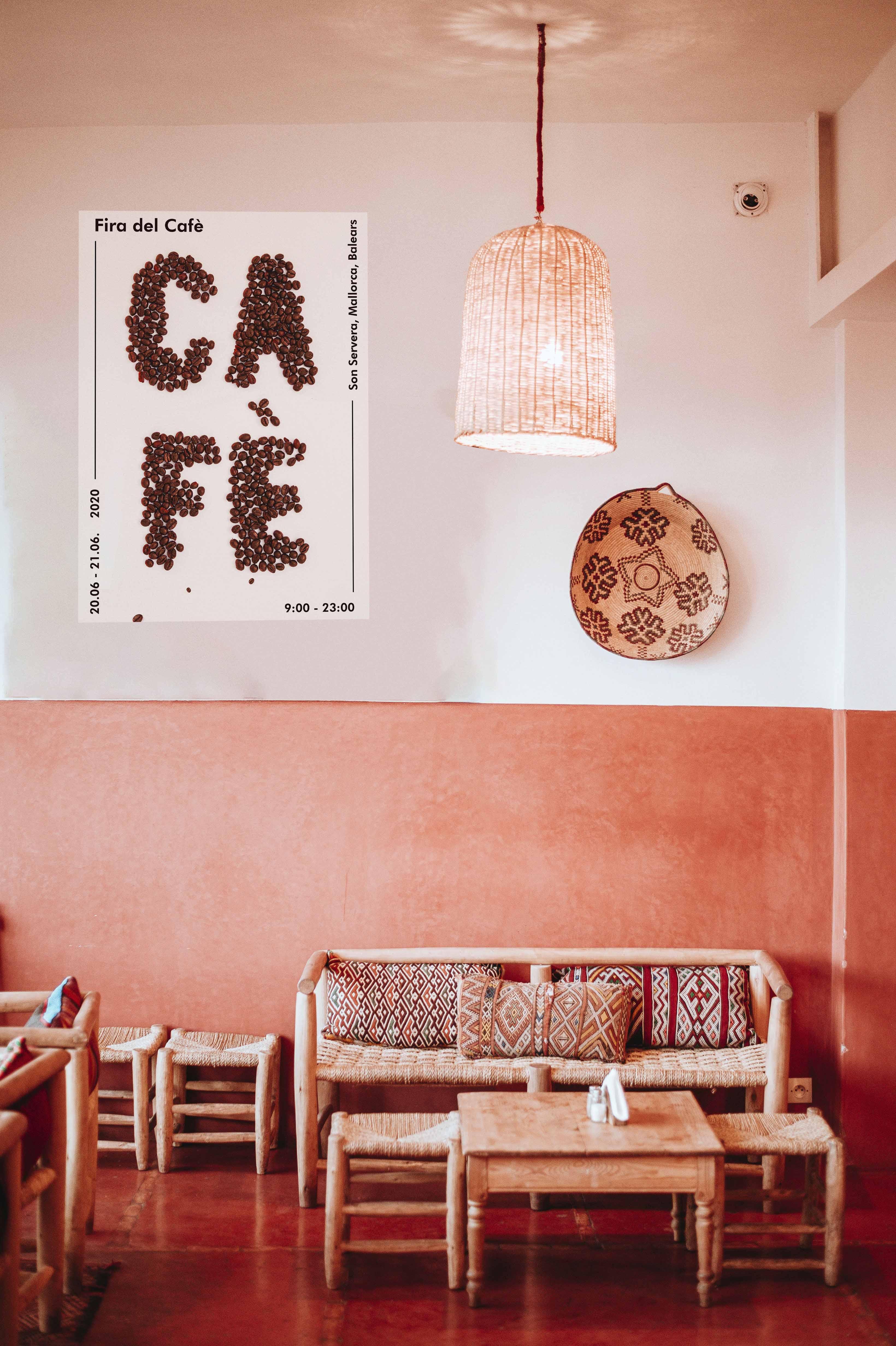 Cartel Feria del café by Raquel Castañeda Gelabert - Creative Work - $i