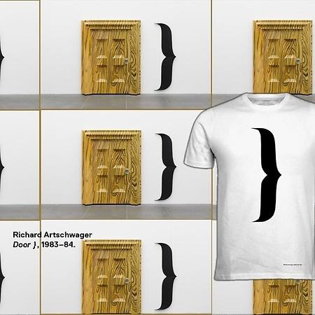 T-Shirt Richard Artschwager