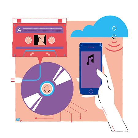 La evolución de los modos de escuchar …