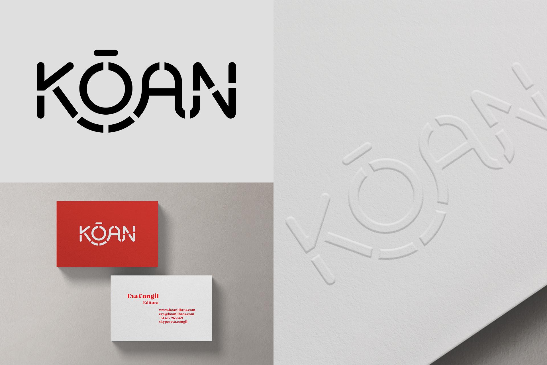 Kōan (Editorial independiente) Branding & Web by Silenceworks - Creative Work