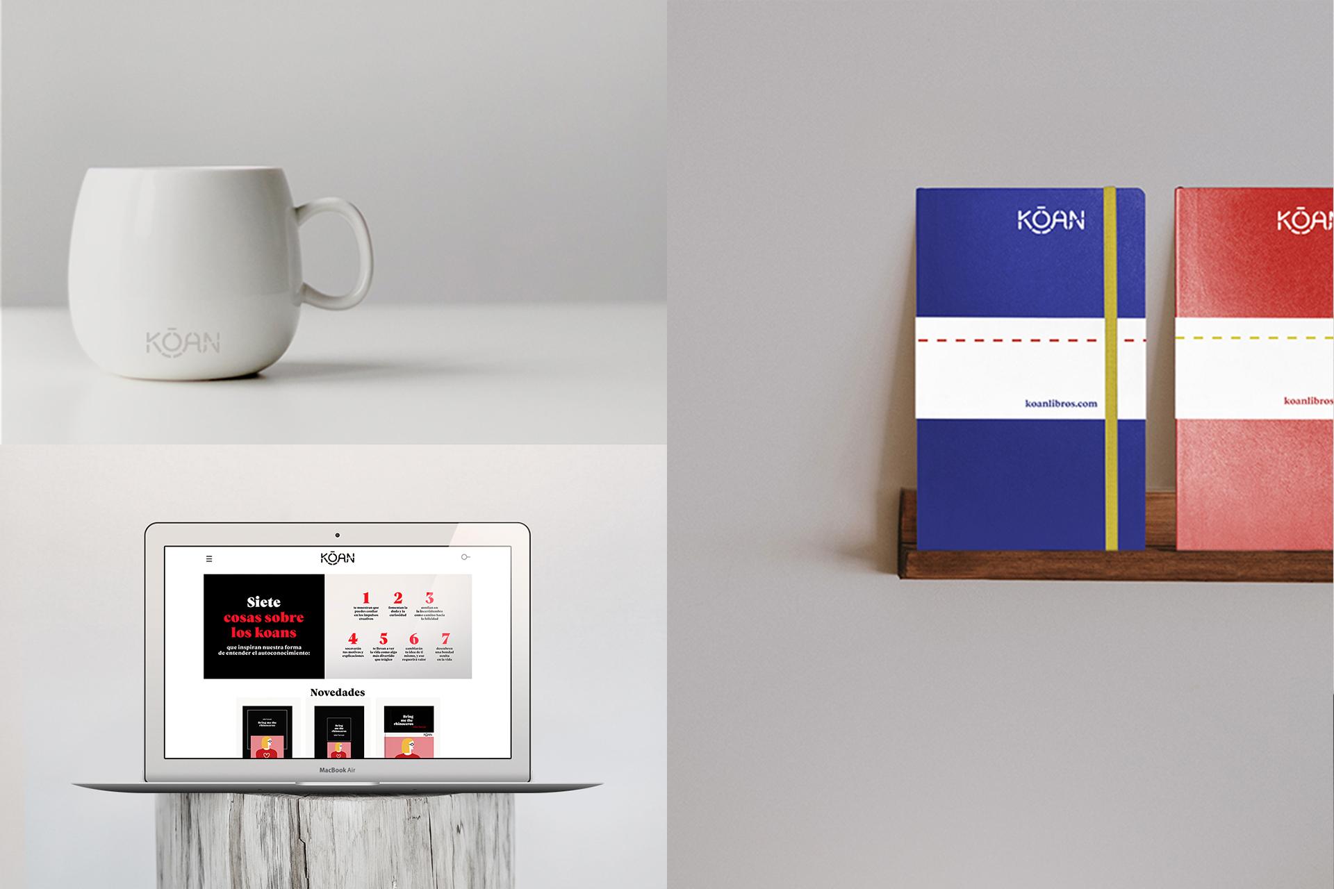 Kōan (Editorial independiente) Branding & Web by Silenceworks - Creative Work - $i
