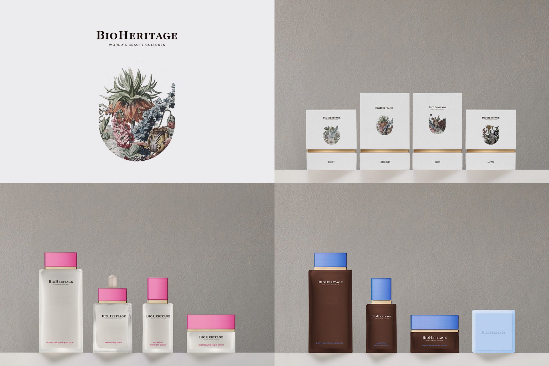 Bioheritage Branding, Storytelling, Packaging & Product Design by Silenceworks - Creative Work - $i