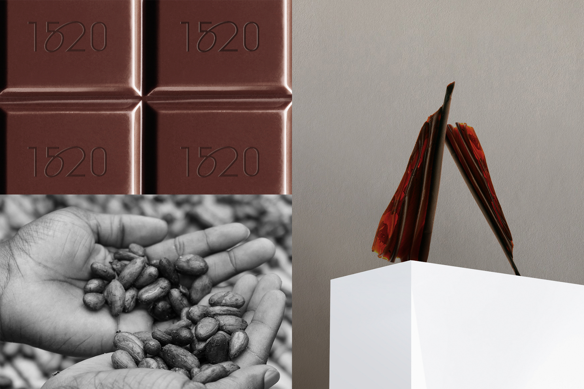 1520 Organic Chocolate, Branding & Packaging by Silenceworks - Creative Work - $i