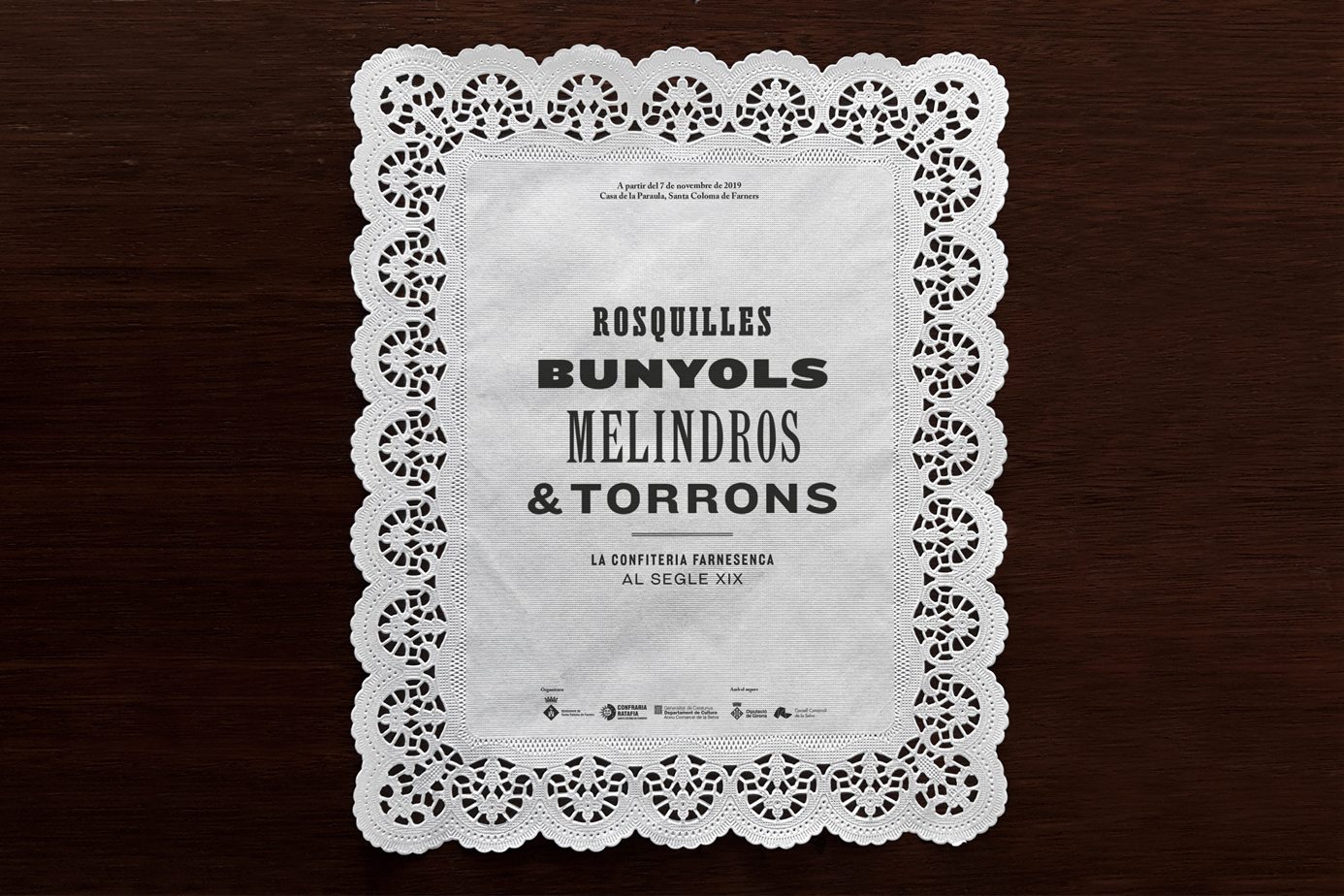 ROSQUILLES, BUNYOLS, MELINDROS & TORRONS by La Fonda Gràfica - Creative Work