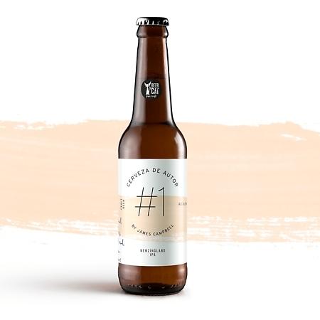 AUTOR. Diseño de etiquetas para cervezas artesanales.