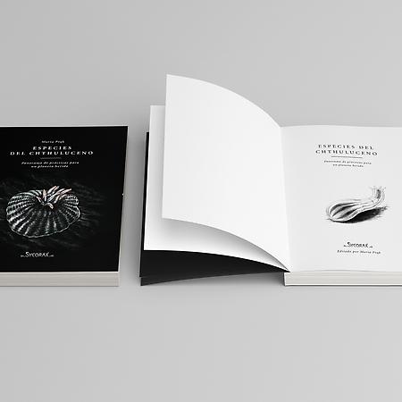 """Diseño, maquetación e ilustraciones para """"Especies del Chthuluceno"""" (Ensayo)"""
