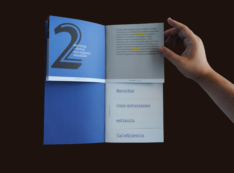 Memoria impresa resumida de Mutua Navarra by Errea Comunicación - Creative Work - $i