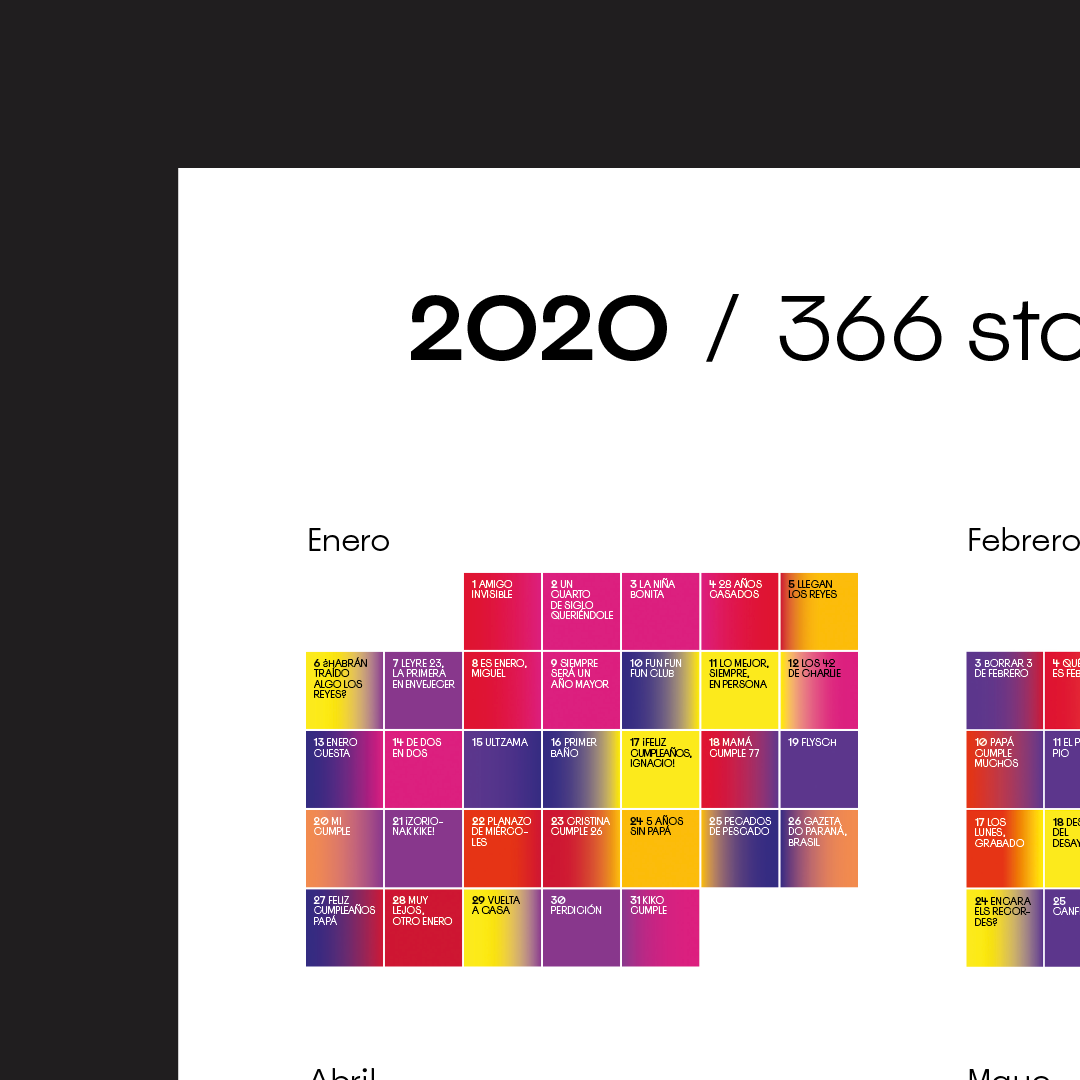 Calendario 2020 by Errea Comunicación - Creative Work - $i