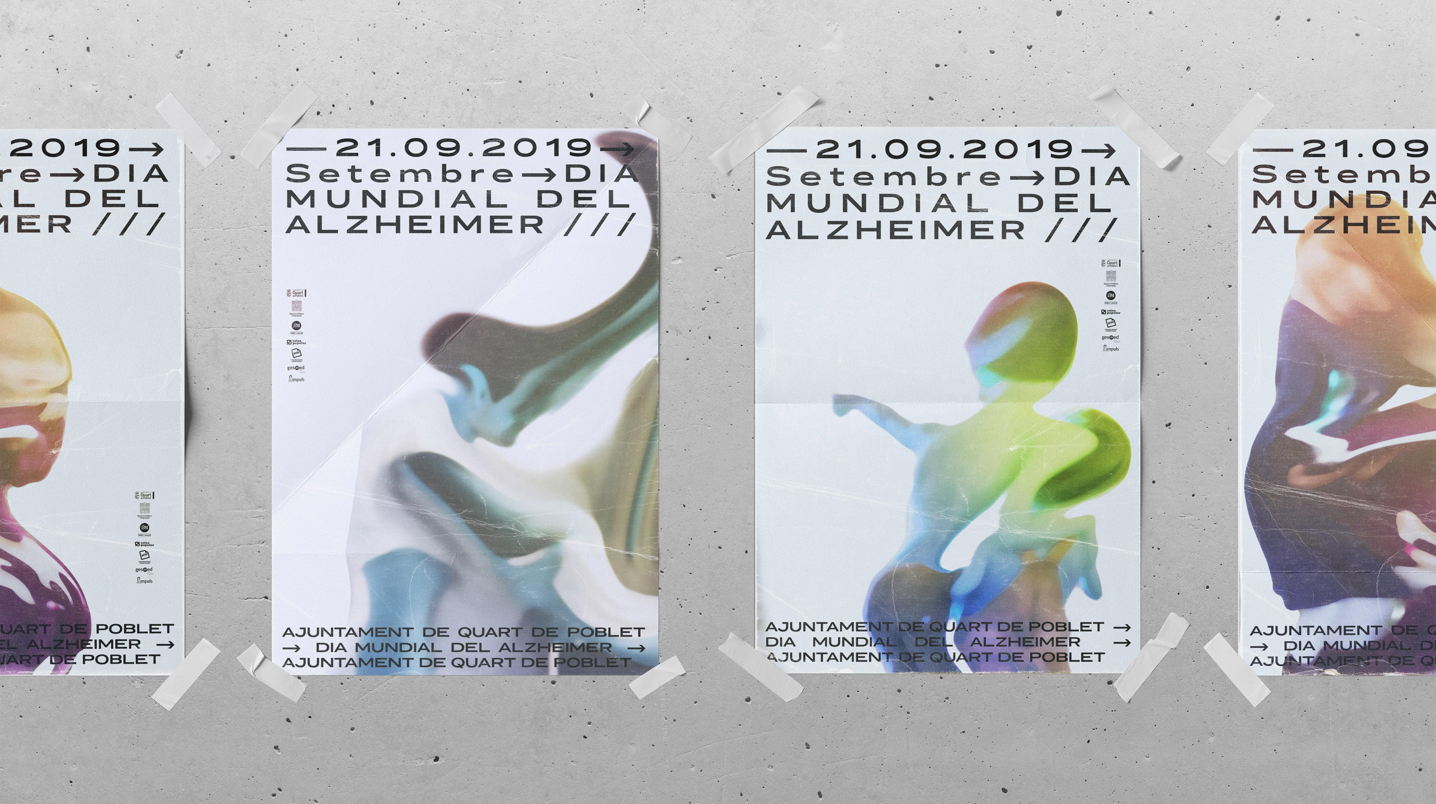 Día Mundial del Alzheimer by Locandia Estudio - Creative Work - $i
