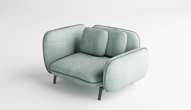 Sofa Saco by Adriane Esacrafullery - Creative Work