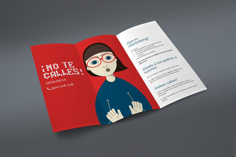 Tríptico 'Cyberbullying' by Olga - Creative Work - $i