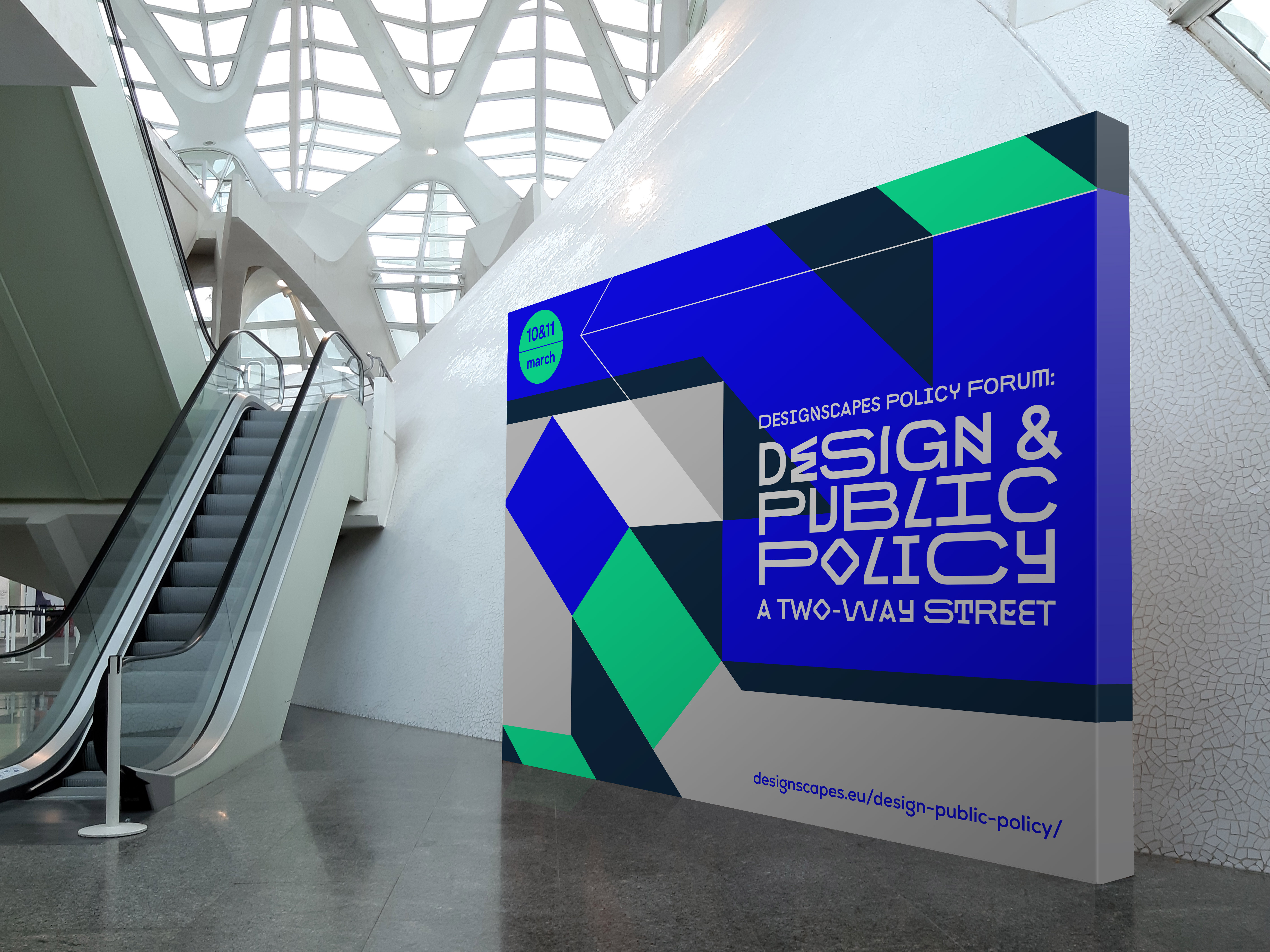 """DESIGNSCAPES Policy Forum: """"Design and Public Policy, A Two-Way Street"""" by Locandia Estudio - Creative Work"""