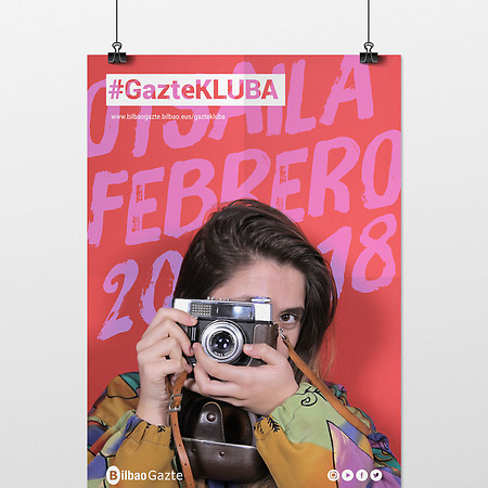 #GazteKLUBA, Branding y campaña de comunicación