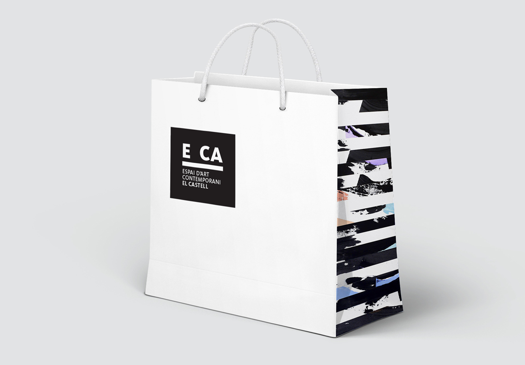 E CA Espai d'Art Contemporani El Castell by Gimeno Gràfic - Creative Work - $i