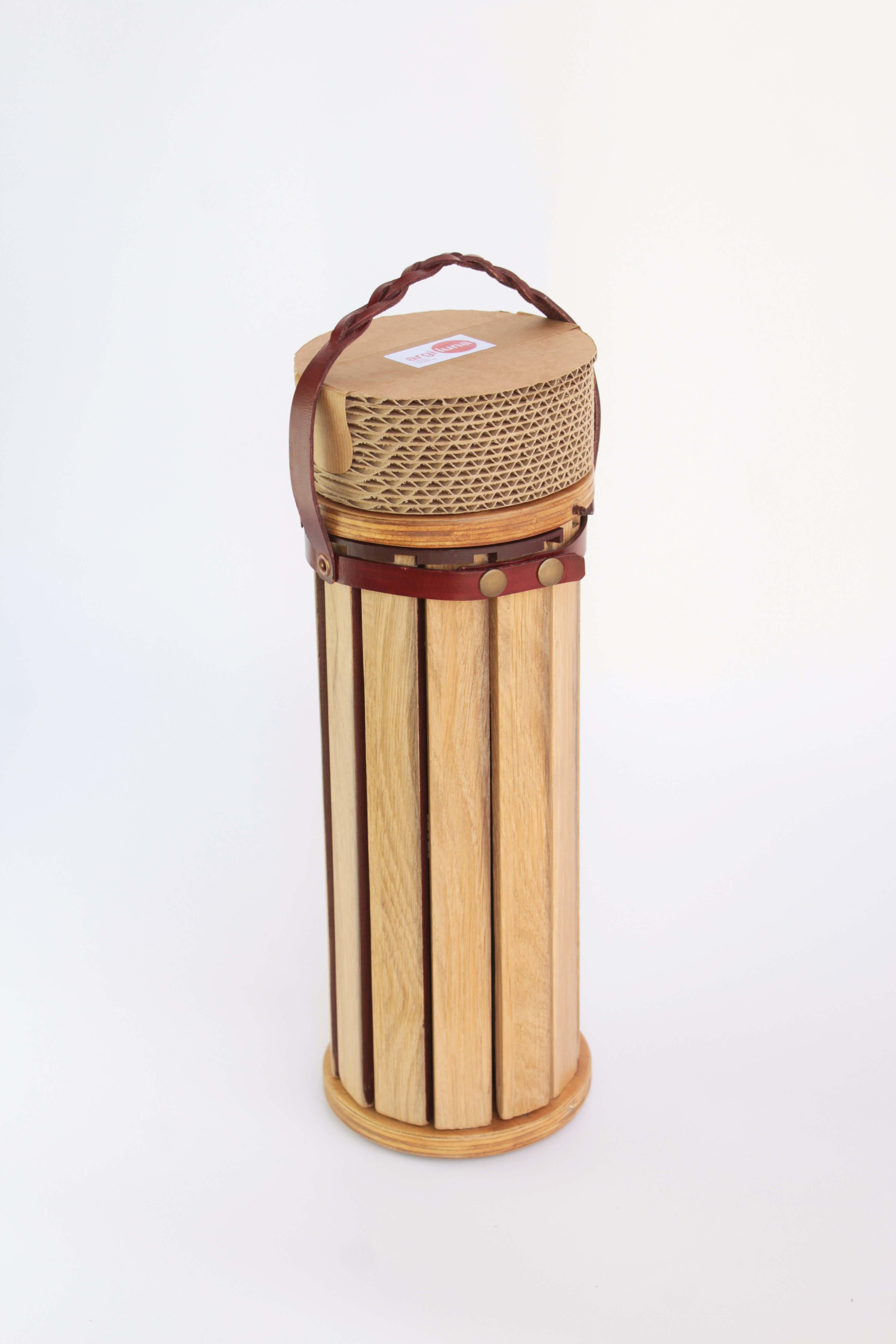 Argiluna, packaging sostenible con doble uso.  by Amaia Prieto Atxotegi  - Creative Work