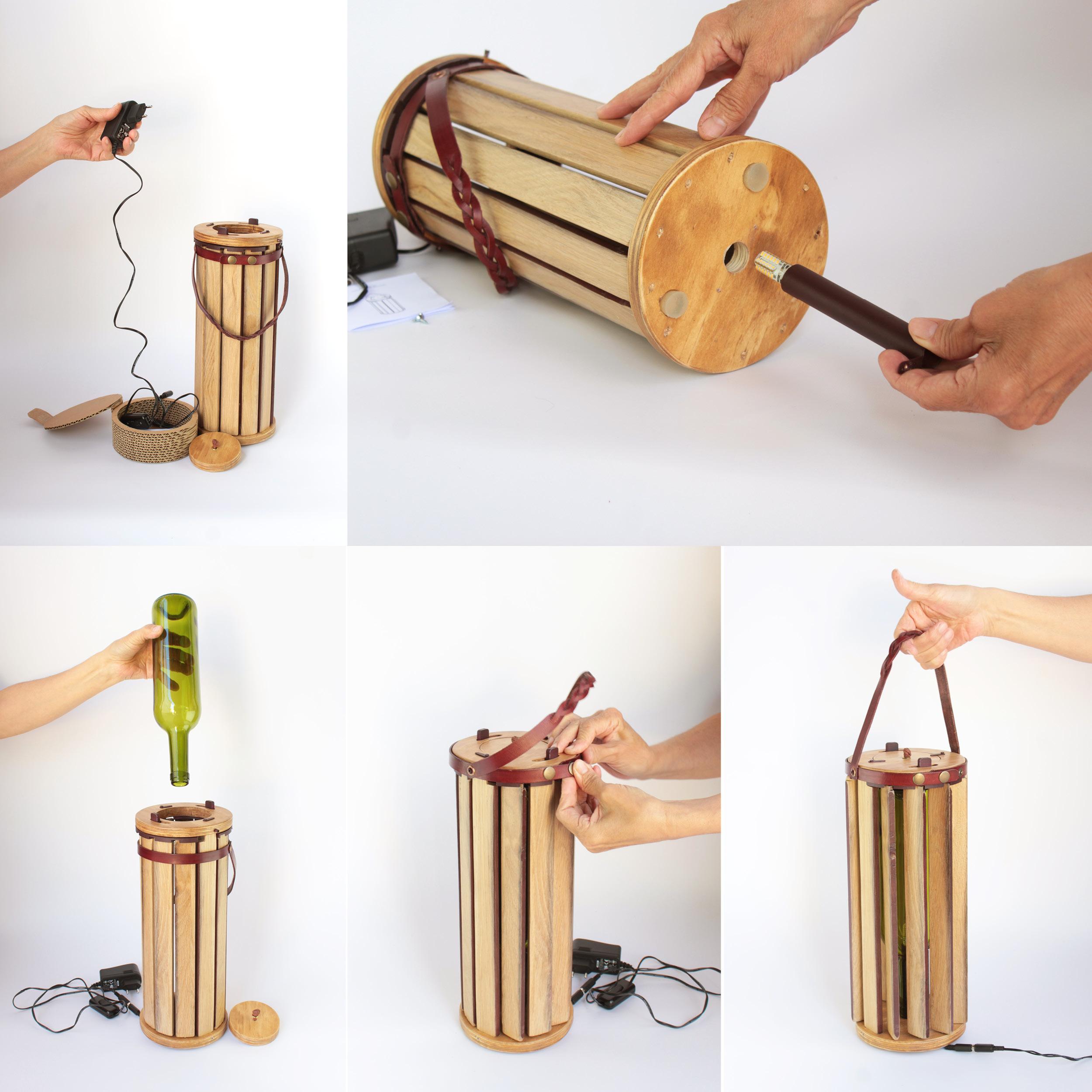 Argiluna, packaging sostenible con doble uso.  by Amaia Prieto Atxotegi  - Creative Work - $i
