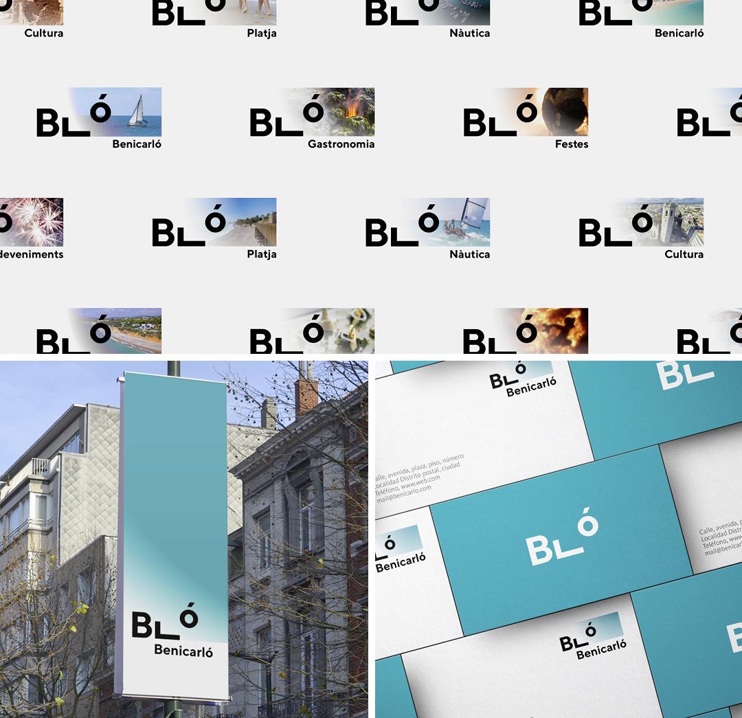 Marca turística Benicarló by Gimeno Gràfic - Creative Work - $i