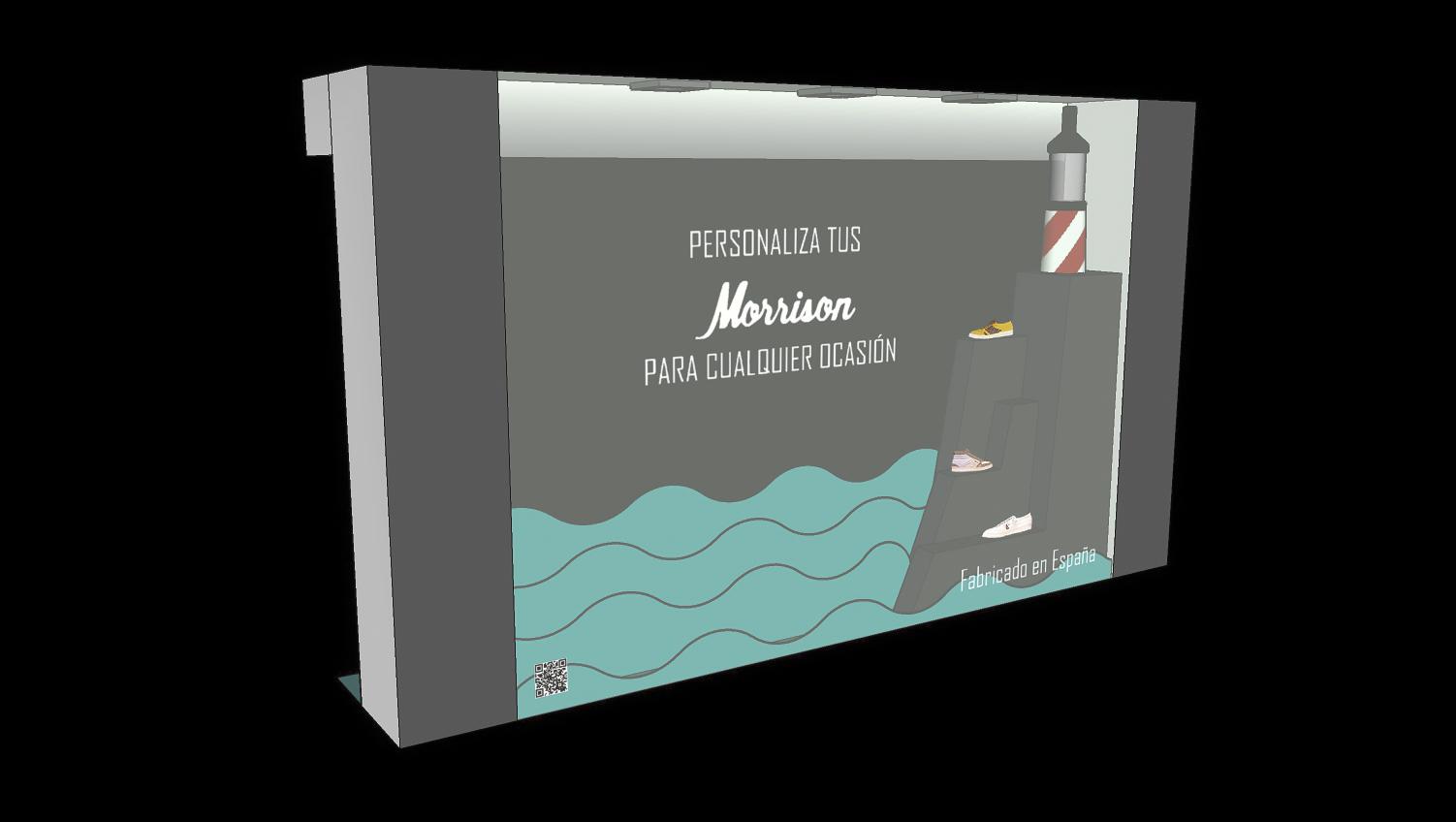 Diseño de escaparate para la marca Morrison Shoes by Esther del Castillo Hernández - Creative Work - $i