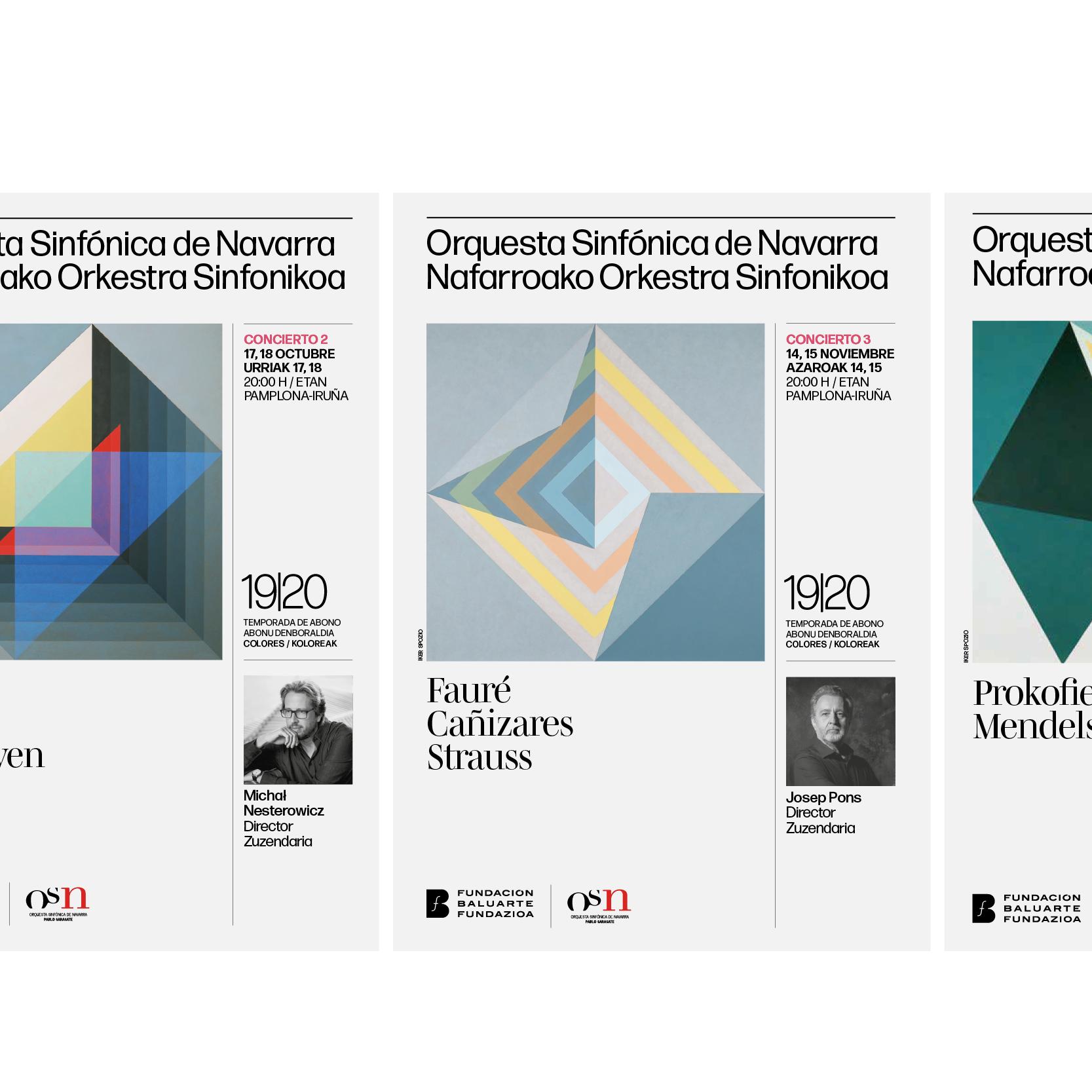 Imagen para la Orquesta Sinfónica de Navarra by Errea Comunicación - Creative Work