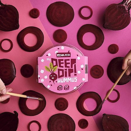 DEEP DIP: Tasty, sustainable and to share legume based spreads company
