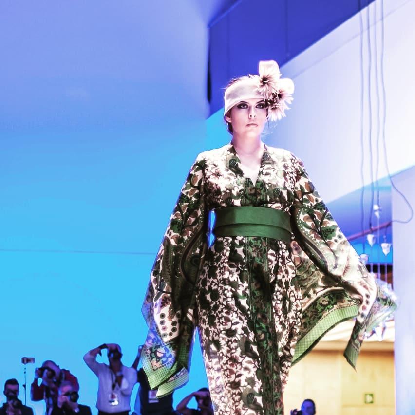 "Vestido Kimono ""Welcome to Paradise"" by Natacha Arranz del Rey - Creative Work - $i"