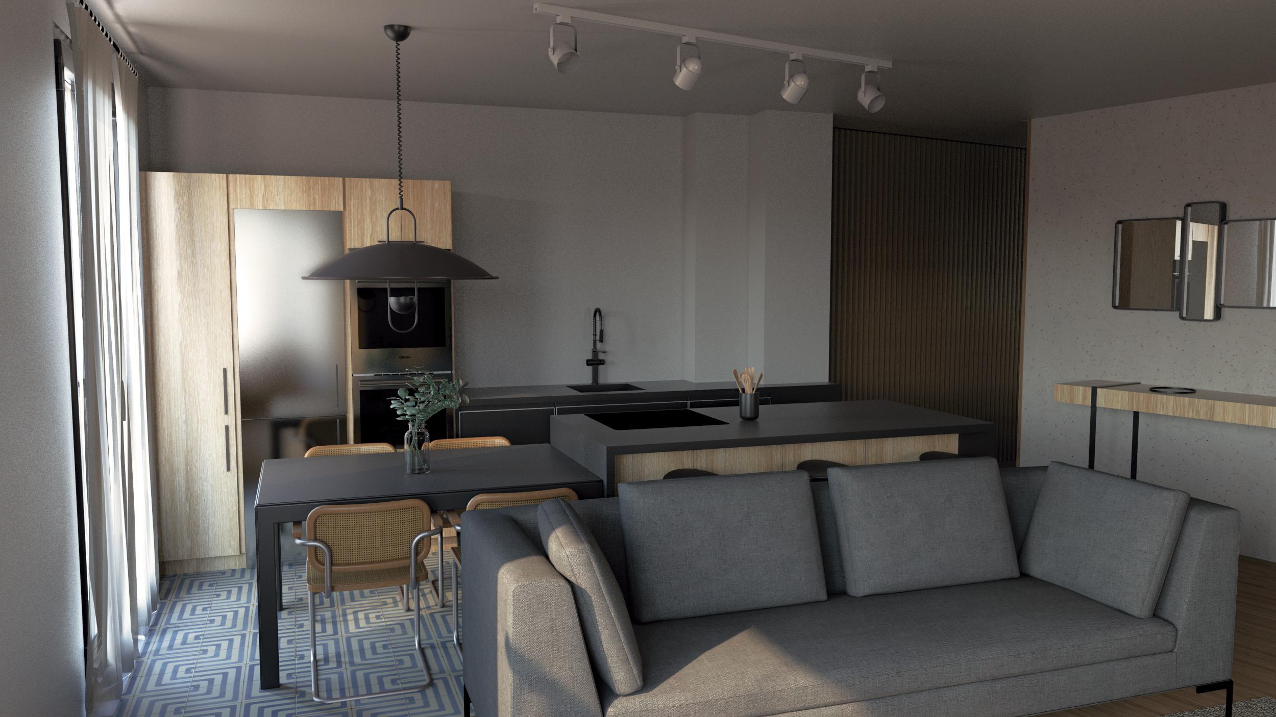 Renderizado de una vivienda by AMAIA MENDIKUTE - Creative Work