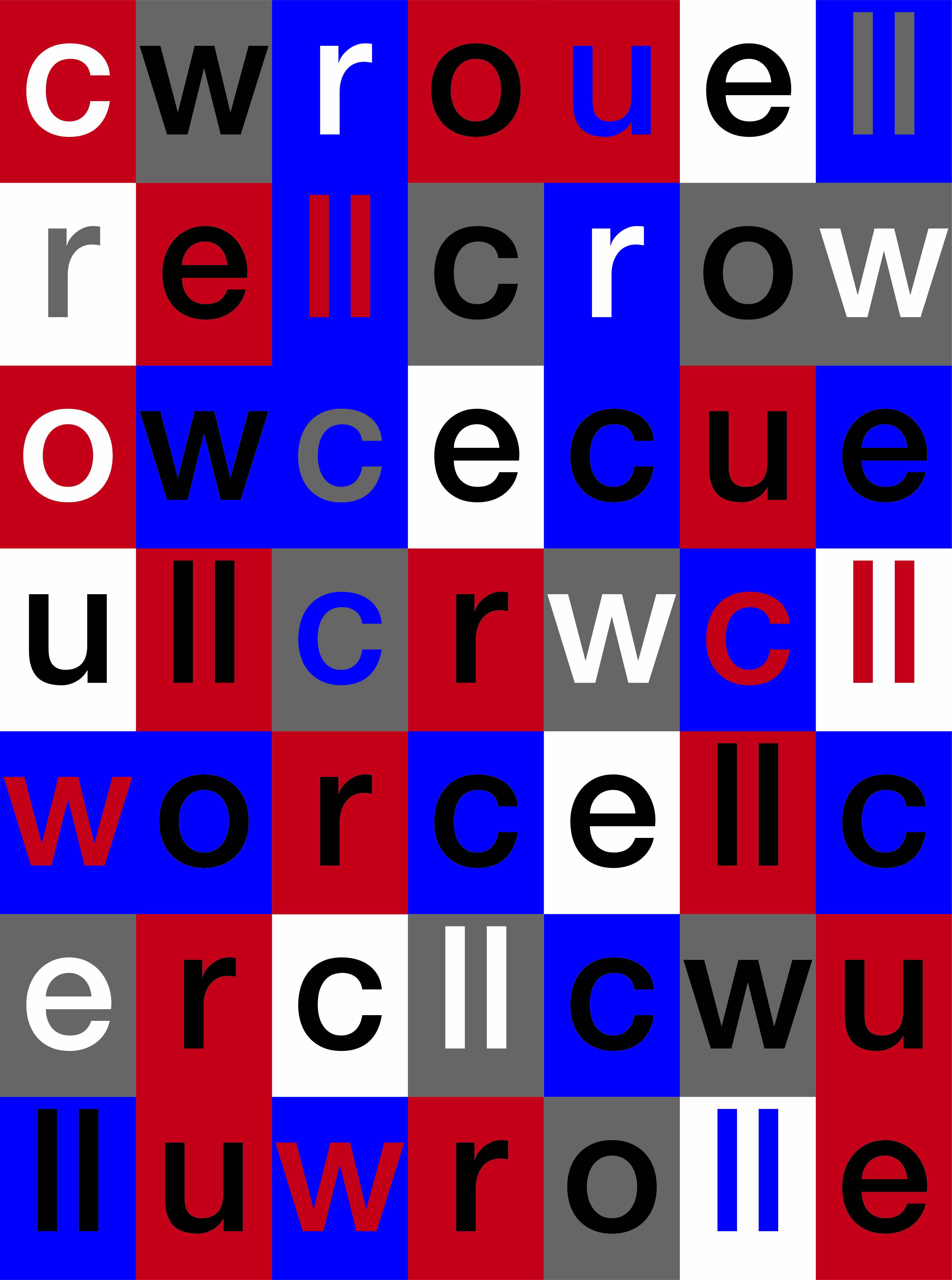 Tribute to Win Crouwel by teiga, studio. - Creative Work