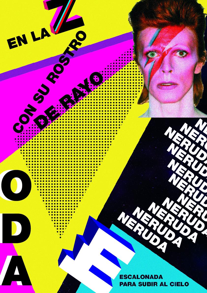 'Dadá Rimbaud' y 'New Neruda': propuestas de cartel tipográfico by Sandra Ramos Hermida - Creative Work - $i