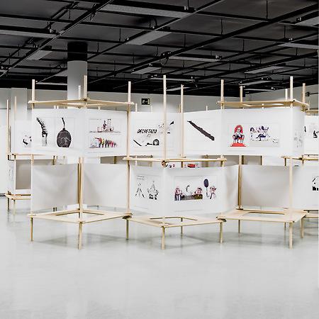 Pinto & Chinto exhibition design