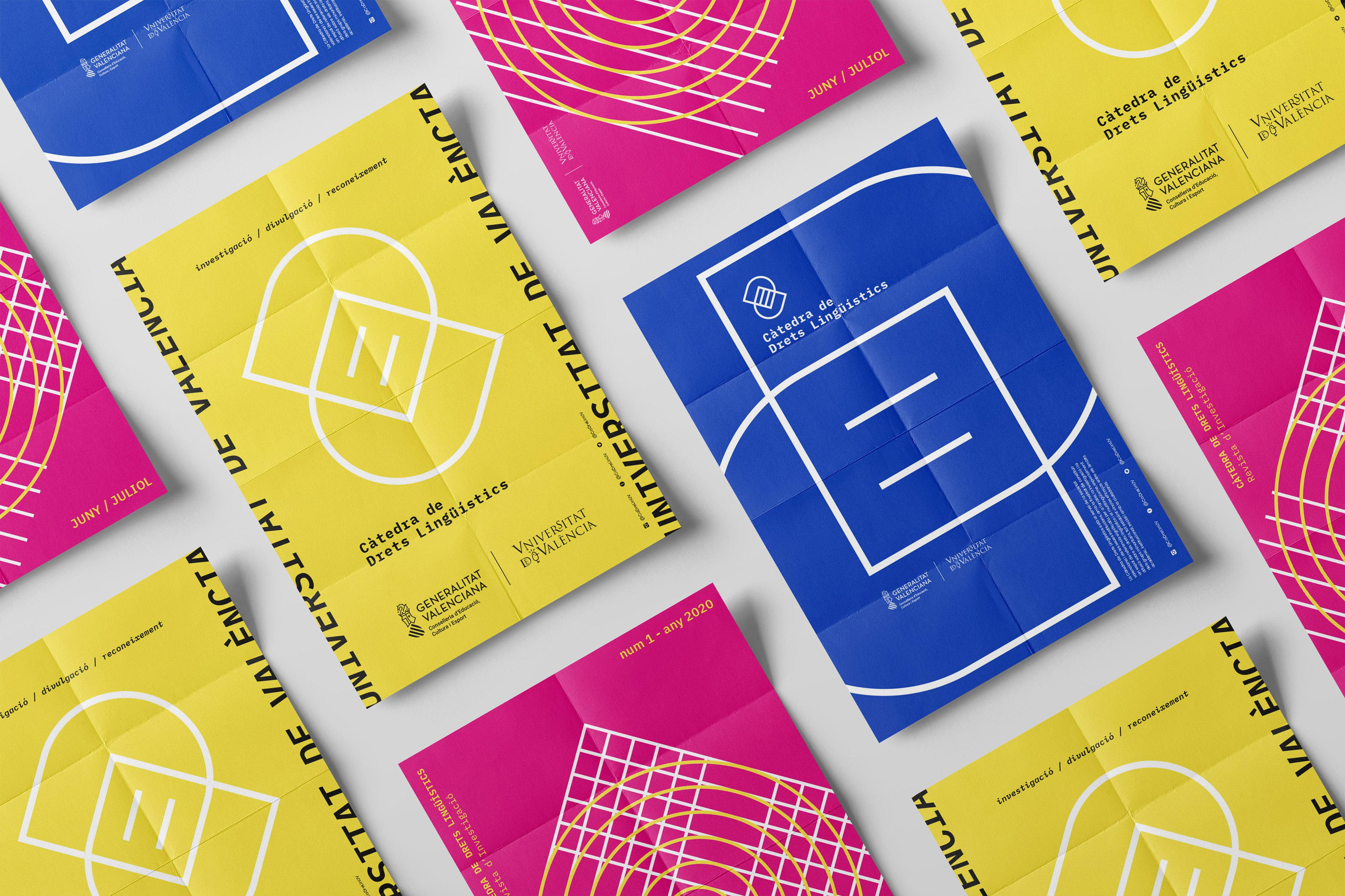Càtedra de Drets Lingüístics UV by Locandia Estudio - Creative Work - $i