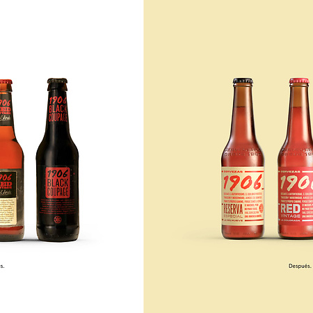 Cervezas 1906 - Full brand restyling and …