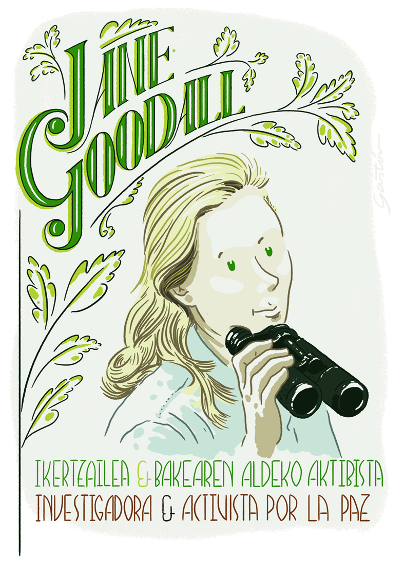 JANE GOODALL by Asier Iturralde (GASTÓN) - Creative Work