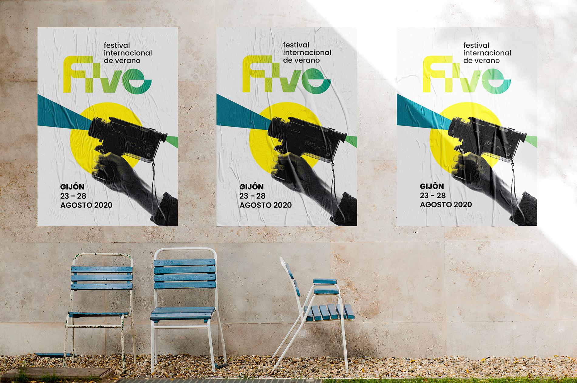 Five – Festival Internacional de Verano  by Inés Real Pascual - Creative Work - $i