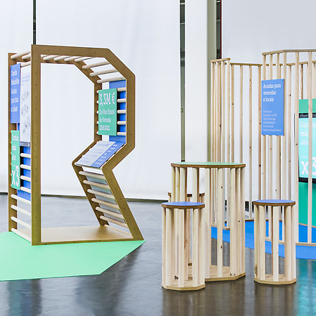 Coruña Rehabilita - Stand design