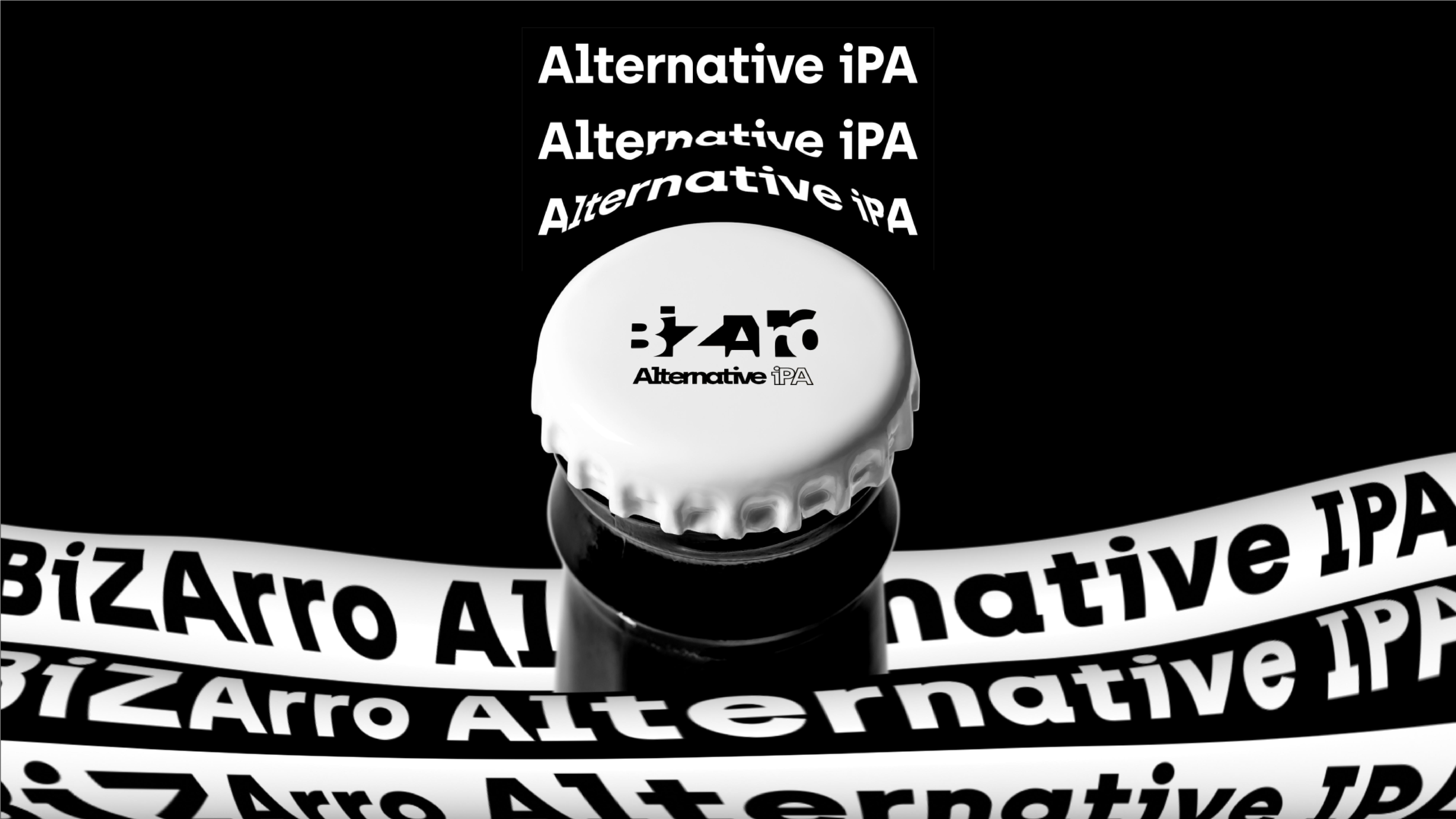 BIZARRO Alternative IPA by Marco Arroyo-Vázquez - Creative Work - $i