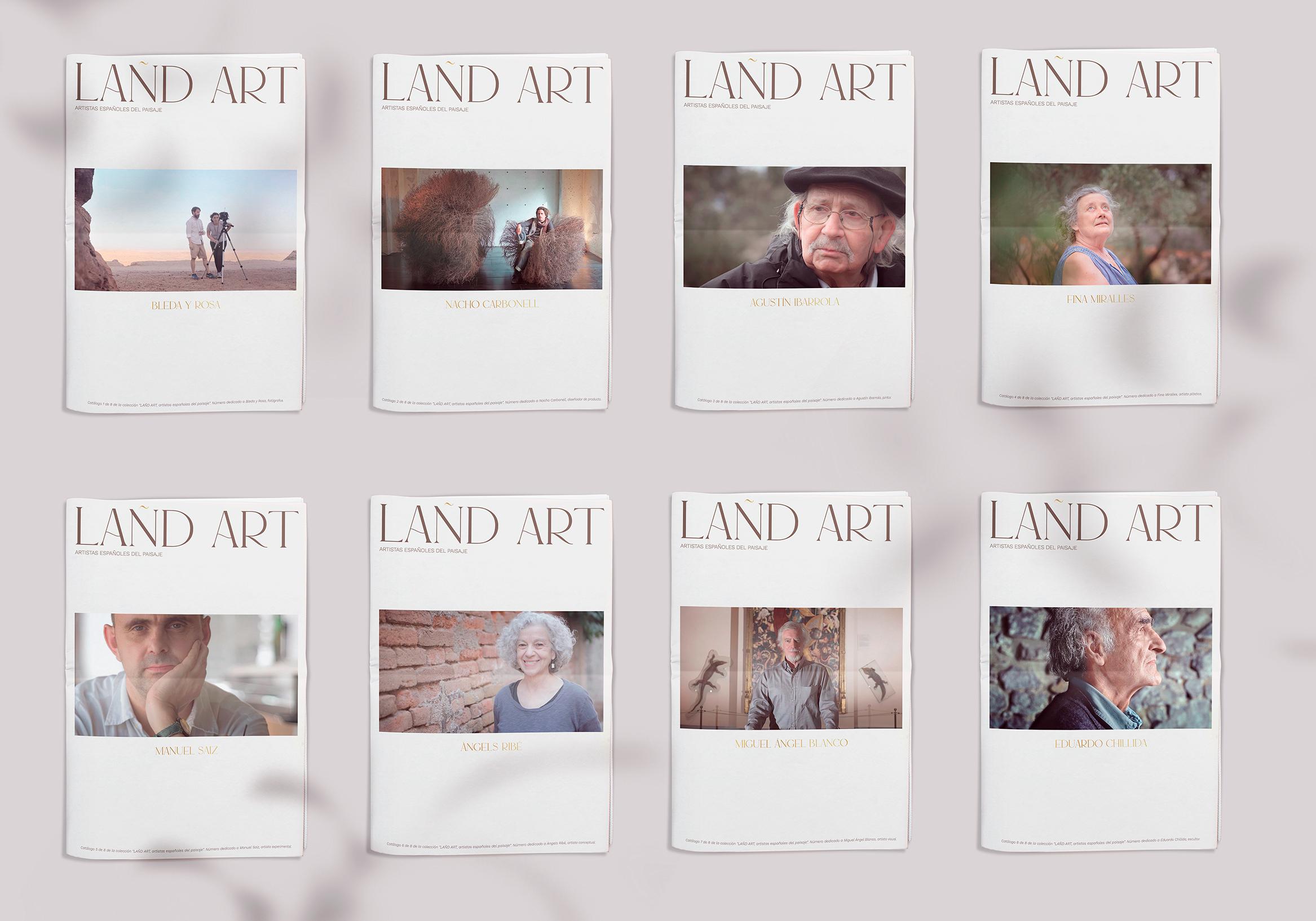 LAÑD ART by Leyre Chordá - Creative Work - $i