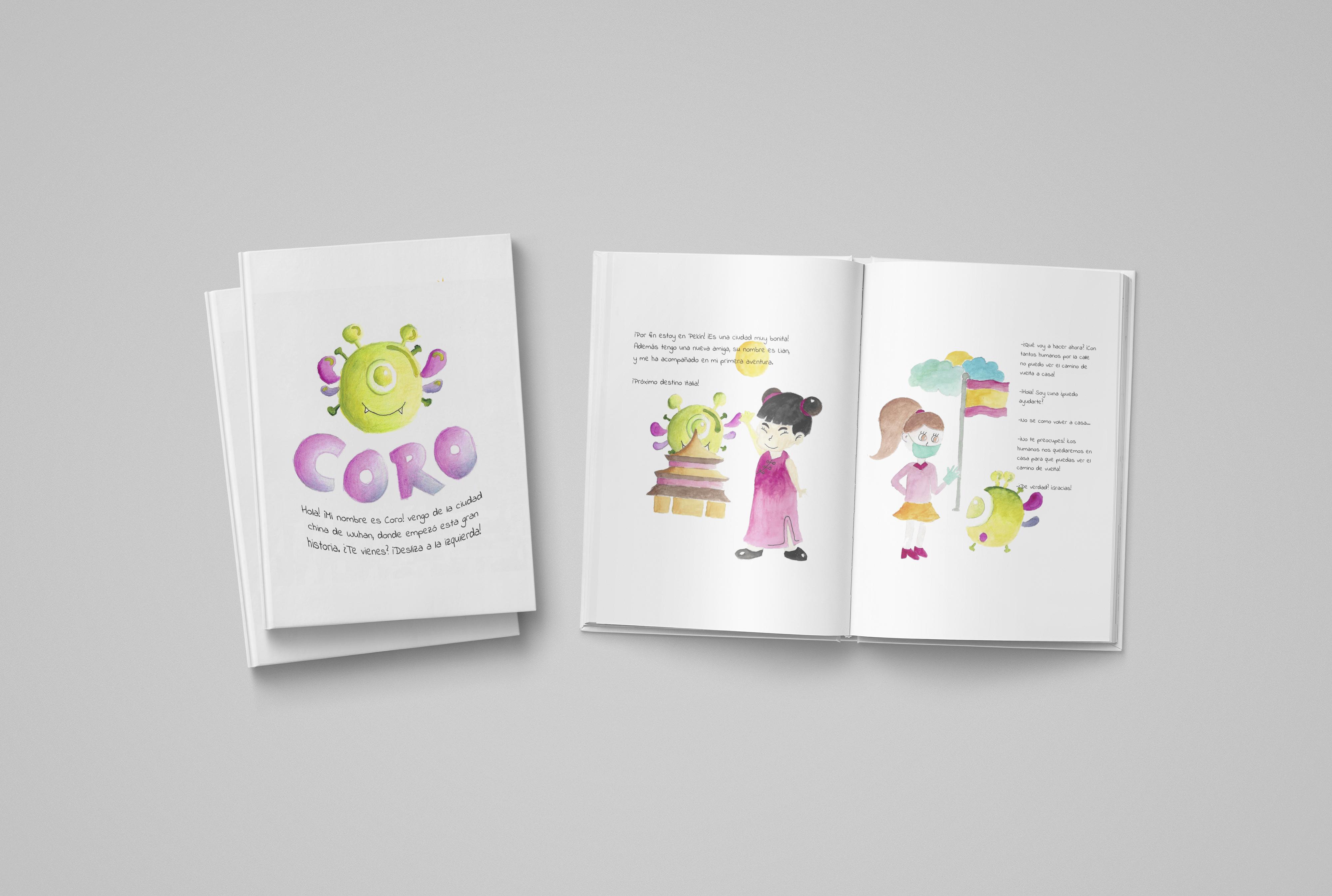 Cuento: Las aventuras de Coro by Nerea Vidal Muñoz - Creative Work