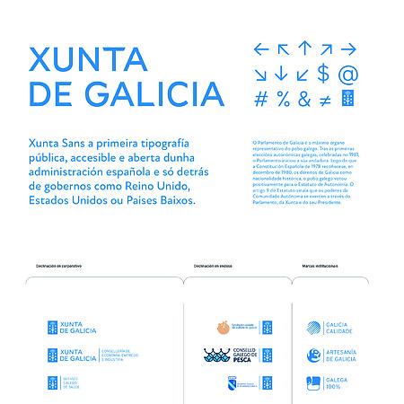Xunta de Galicia - visual identity
