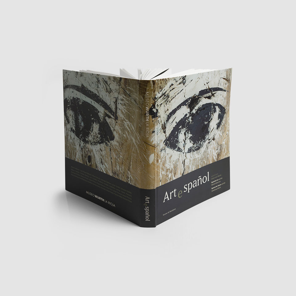 Diseño catálogo 'Arte Español Museo Würth La Rioja' by Óscar Ortega Quesada - Creative Work