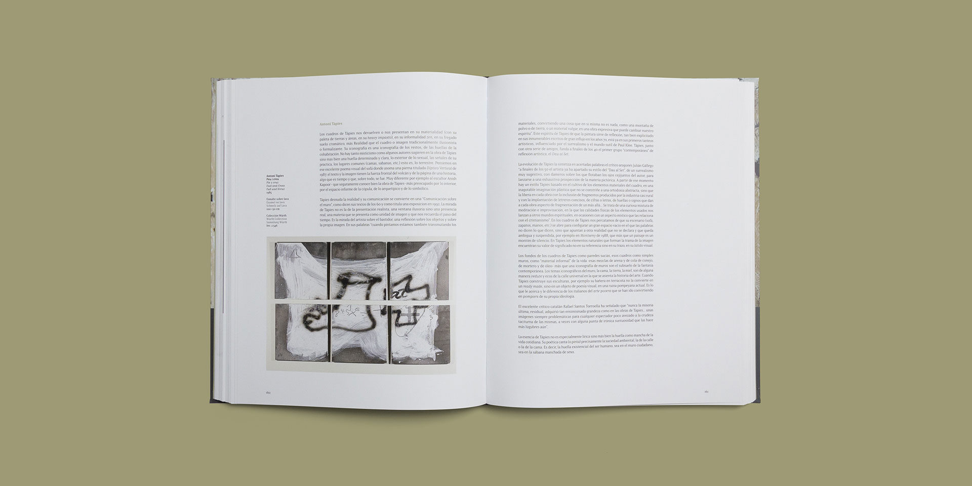 Diseño catálogo 'Arte Español Museo Würth La Rioja' by Óscar Ortega Quesada - Creative Work - $i