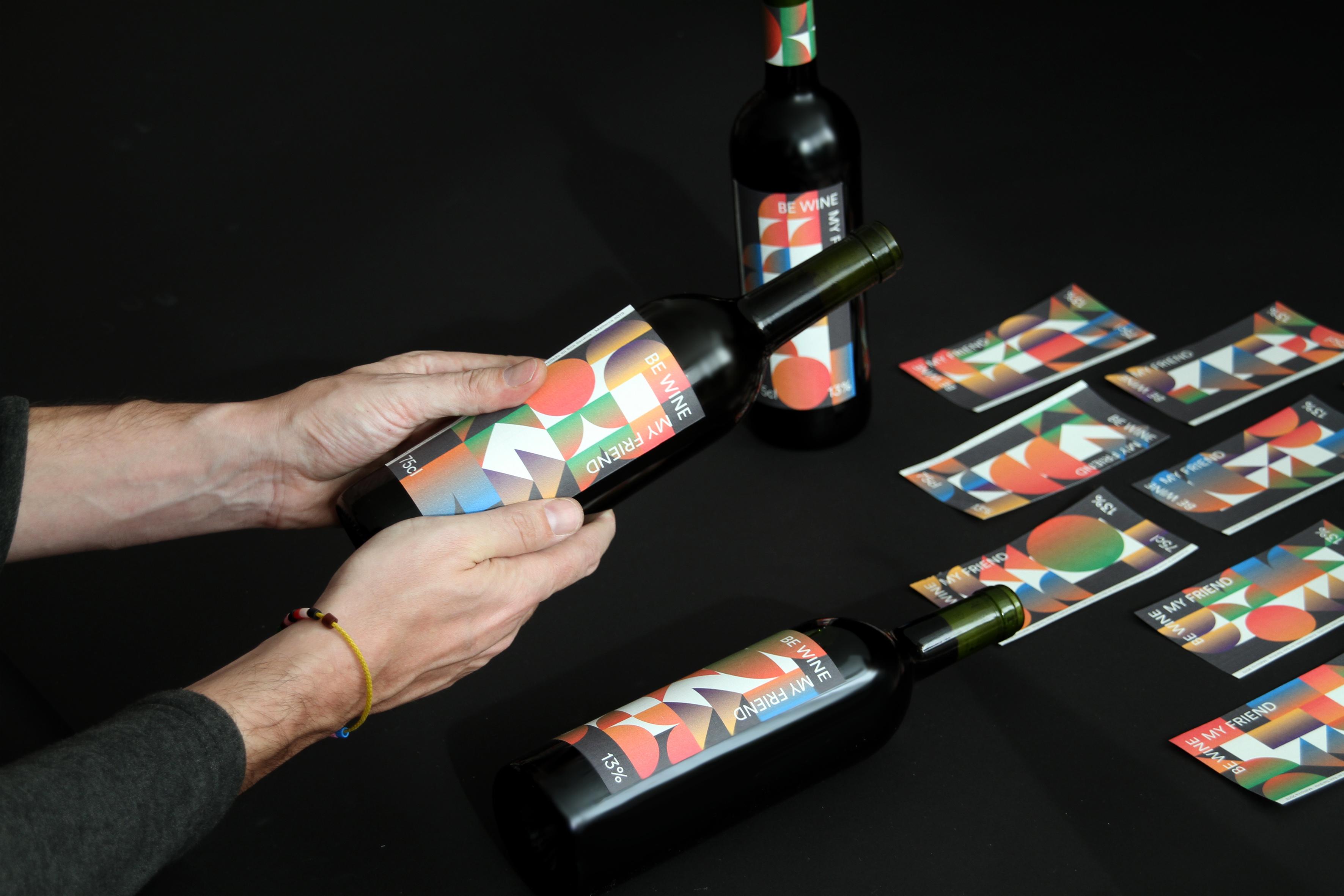 Be wine my friend by Barceló estudio - Creative Work