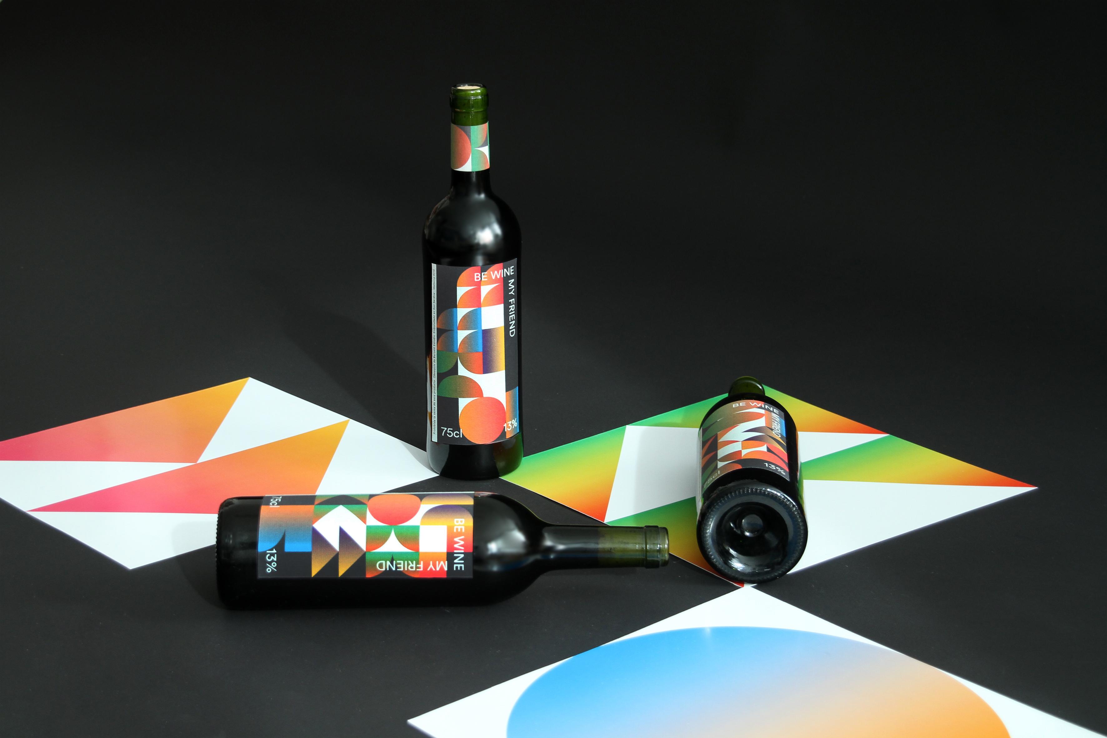 Be wine my friend by Barceló estudio - Creative Work - $i